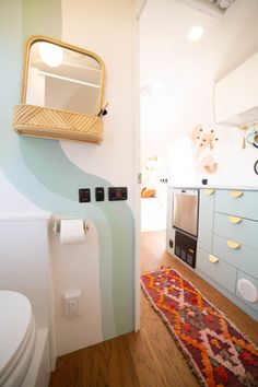Furniture For Small Spaces, New Furniture, Rv Interior, Interior Design, Caravan Renovation, Van Home, Sweet Home, Tiny Spaces, Tiny House On Wheels