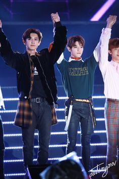 My two biaswrecker #NCT127 #EXO #CHANYEOL #TAEYONG