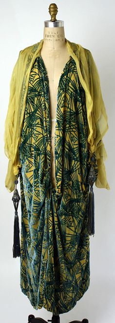 early 1920s American silk Negligée