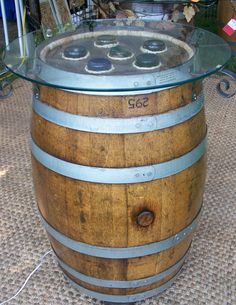 If we have kegs, I would like something classy to put them in... I wonder if I can rent barrels from anywhere...