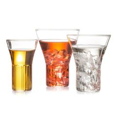 EU Clients Set of 2 Handcrafted Czech Contemporary Rila Large Glasses by Felicia Ferrone | 1st Dibs | $200