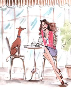 Dogs make great coffee dates #izakzenou