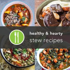 5 Stew Recipes from around the web: Ecuadorian Chicken and Rice,  Curried Vegetable Stew with Quinoa, African Peanut Stew with Sweet Potatoes and Spinach, Moroccan-Style Vegetable and Chickpea Stew
