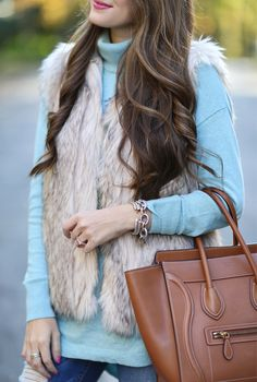 love the color of the sweater