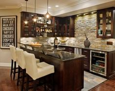 Awesome Basement Bar Ideas With Wall Cladding : Basement Bar Ideas. Bar Designs,bar  Ideas Basement,basement Bar Design Ideas,basement Bar Ideas,home Bar Ideas