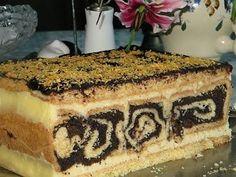 Ciasto Makowe roladki w masie serowej