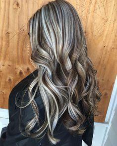 dimensional lowlights and highlights #hairbyashleypac #hair#haircolor#blonde#lowlights#highlights#dimension#dimensionalblonde#dimensions#blondehair#hairpics#hairideas#hairpost#modernsalon#behindthechair#imallaboutdahair#curls#curlyhair#hairgoals#hairdo#beachwaves#goldwell @behindthechair_com @imallaboutdahair @american_salon @modernsalon