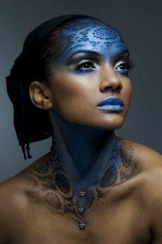 Bildresultat för avantgarde makeup
