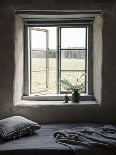 Stillsamt sovrum med