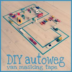 Easy Crafts For Kids, Projects For Kids, Diy For Kids, Simple Crafts, Masking Tape, Washi Tape, Oral Motor, Tape Crafts, Toddler Activities
