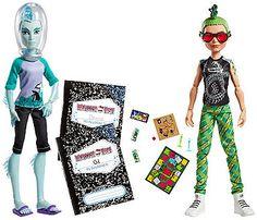 "Monster High Mansters Gil Webber & Deuce Gorgon Dolls, 2-pack - Mattel - Toys ""R"" Us"