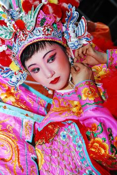 - beautiful costume for Chinese NY Performance.