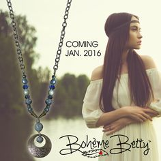 We're excited to release the Boheme Betty in January 2016! Stay tuned for the line that will bring out the inner Bohemian in you!