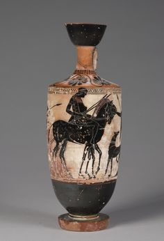 Greece, late 6th century BC, black-figure terracotta, Overall: h. 32.40 cm (12 3/4 inches). The Charles W. Harkness Endowment Fund 1929.135