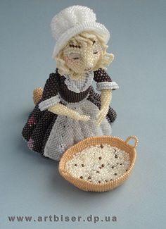Cinderella Ulyana Volhovskaya #beadwork
