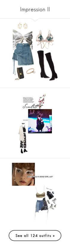 """""""Impression II"""" by magnusx ❤ liked on Polyvore featuring Sandy Liang, Loeffler Randall, A.L.C., Chanel, StreetStyle, Wyld Home, H&M, NIKE, Illesteva and Olympia Le-Tan"""
