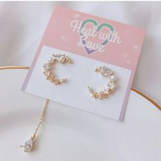 Very Skinny Girls, Jewelry Trends, Jewelry Accessories, Ring Necklace, Pearl Earrings, Peach Aesthetic, All About Fashion, Girly Things, Fashion Jewelry