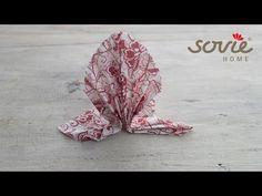 "Servietten falten ""Gala"" - Sovie HOME - YouTube"