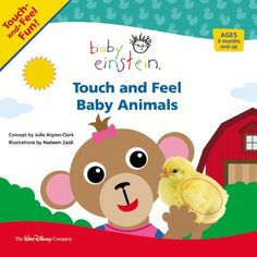 Baby Einstein: Touch and Feel Baby Animals by Disney Book Group, http://www.amazon.com/dp/1423109805/ref=cm_sw_r_pi_dp_k-Sgrb0C8W21K