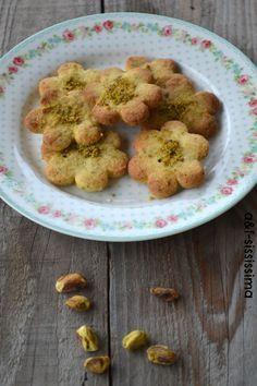 acqua e farina-sississima: biscotti al pistacchio