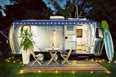 love my camper but wish i could have had an air stream! #dream
