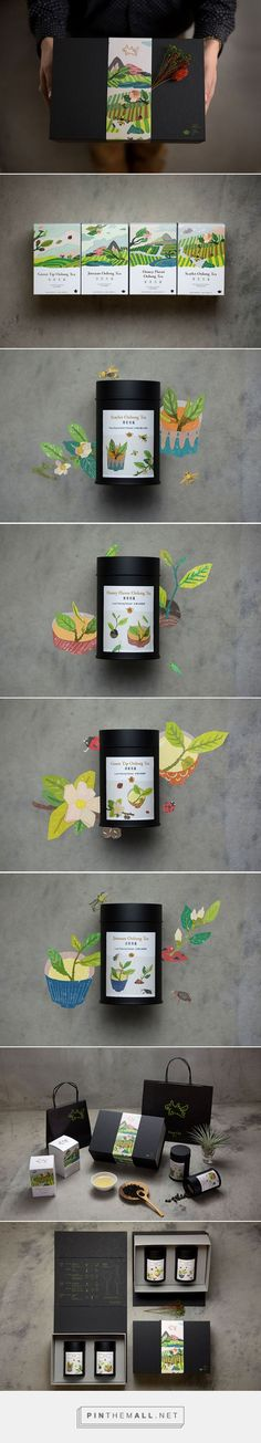FongCha via InspirationDaily for 豐文創, Taiwan curated by Packaging Diva PD. Tea packaging inspiration.