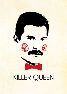 Freddie Mercury Poster - Killer Queen