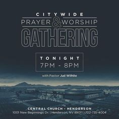 Join us tonight as we gather in this difficult time to comfort our community with prayer and worship at .