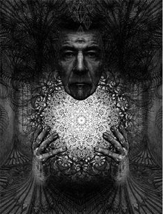 Dan Hillier's work is just so weird and wonderful. I love it so much that I have a tattoo of one of his pieces.
