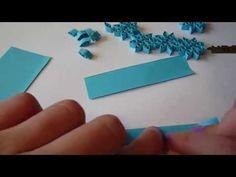 jak vyrobit kytičku z papíru - YouTube