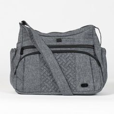 Look at this Heather Gray Gallop Crossbody Bag Trendy Purses, Cheap Purses, Cheap Handbags, Large Handbags, Cheap Bags, Cute Purses, Luxury Handbags, Fashion Handbags, Purses And Handbags