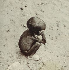 """Poverty is the worst form of violence."" Gandhi. Koupusanku: Children suffered more than anyone."