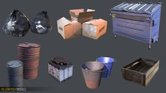 Elevate your workflow with the Workshop HQ Pack asset from Knife Entertainment. Find this & other Environments options on the Unity Asset Store. Star Wars Concept Art, Game Props, Zombie Art, Low Poly Models, Modelos 3d, D House, Albedo, Art Station, Game Assets