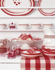 Gingham Kitchen