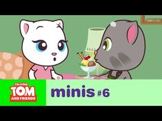 Talking Tom and Friends Minis ep.6 - Part Time Job - YouTube