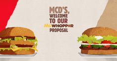 Burger King are seeking a truce with McDonald's and have chosen the greatest reason ever.