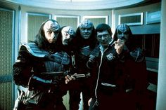 Spock directing the Klingons in Star Trek III: The Search For Spock