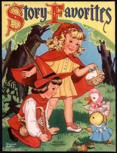 """Story Favorites"" Merrill 1941. Illus. by Florence Salter | eBay"