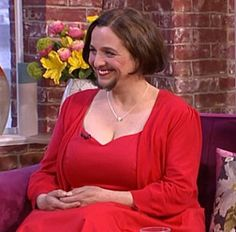 Mariam tells ITV that she's learned to love the way she looks, facial hair and all. (Photo: ITV/This Morning)