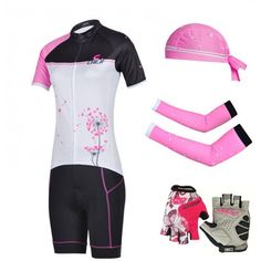 2015-new-5pcs-lot-Women-s-Cycling-jersey-Cycling-Clothing-Cycling-short- sleeve-and-Gel-gloves1 befe9d870