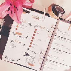 Made my own calendar Inserts today ⭐️ it was a bunch of work but it was worth it. I really like them in my filofax | ich habe heute meine eigenen Kalendereinlagen gemacht ⭐️ das war eine Menge Arbeit, aber sie hat sich gelohnt. Ich mag sie in meinem Filofax