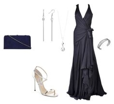 """""""my fashion 23"""" by annie-zz on Polyvore featuring Versace, Jimmy Choo, Karen Kane, Elements and Dorothy Perkins"""