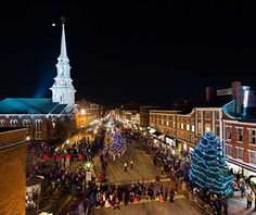 America's Best Towns for the Holidays: Portsmouth, NH