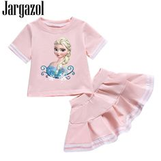 Cheap set de ropa, Buy Directly from China Suppliers:Jargazol bebé Niñas Ropa … - Moda Girls Tutu Dresses, Tutus For Girls, Toddler Girl Outfits, Kids Outfits, Cute Costumes For Kids, Cheap Baby Clothes, Shirt Skirt, Summer Shirts, Girl Cartoon