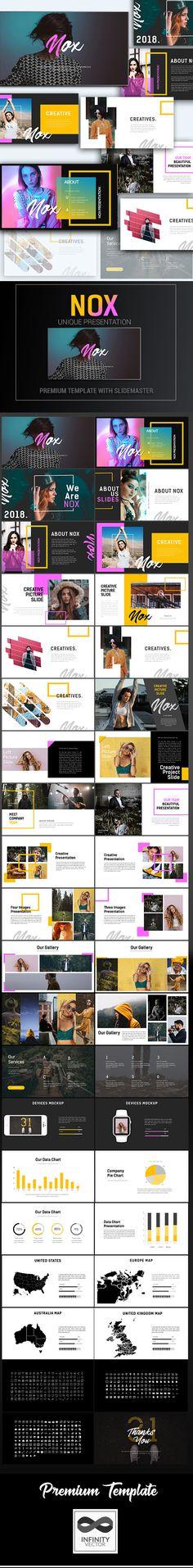 Nox Creative Presentation Google Slide - #Google #Slides #Presentation Templates