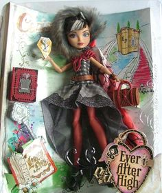 Ever After High Cerise Hood Legacy Day Doll BNIB | eBay