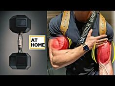 Best Exercise For Biceps, Big Arm Workout, Bicep And Tricep Workout, Good Arm Workouts, Best Chest Workout, Workout Routine For Men, Six Pack Abs Workout, Chest Workouts, Dumbbell Workout