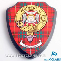 Carruthers Clan Crest Wall Plaque
