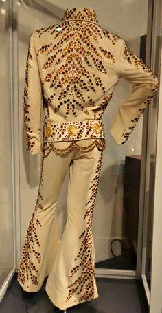 Elvis Presley jumpsuit at the Rock 'n' Soul Museum, Memphis, TN