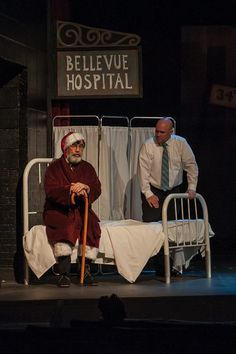 Miracle on Street Bellevue Hospital, 34 Street, Miracle On 34th Street, Stage Set Design, Theater, Play, Theatres, Teatro, Drama Theater